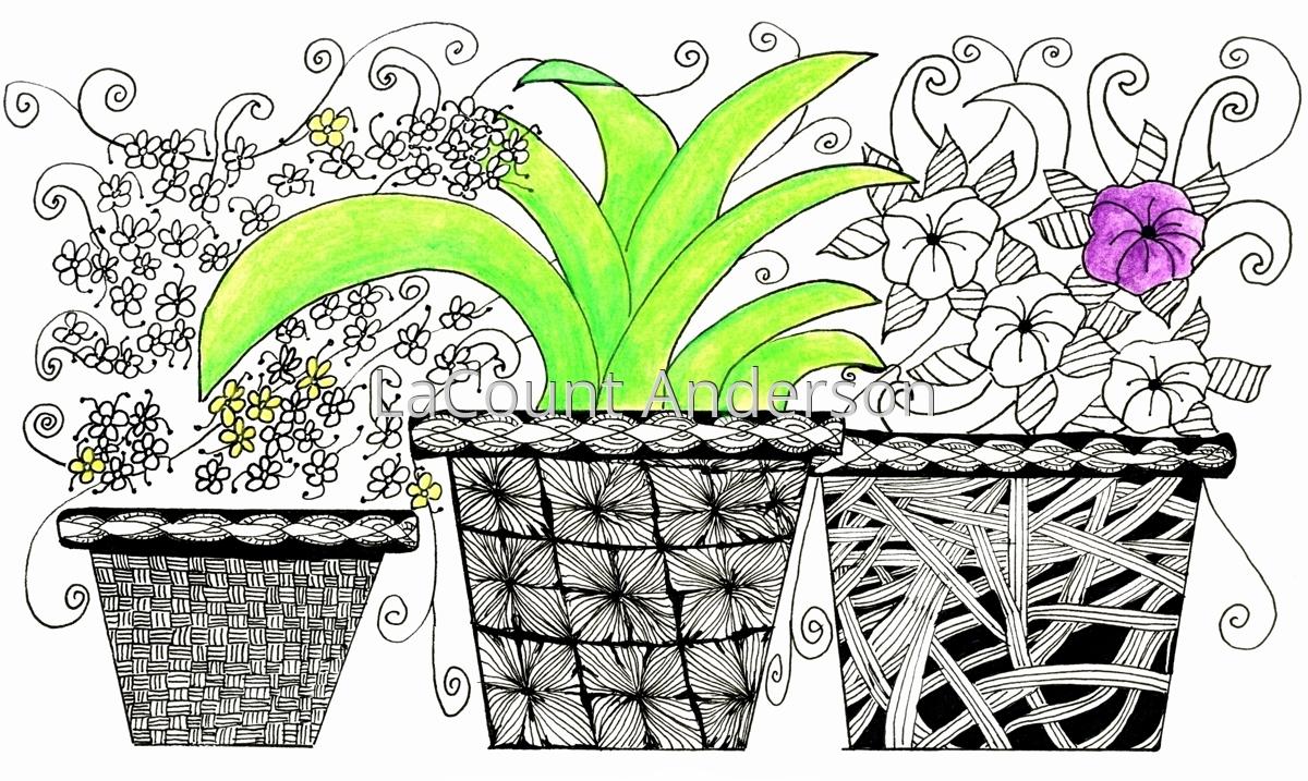 Flower Pots (large view)