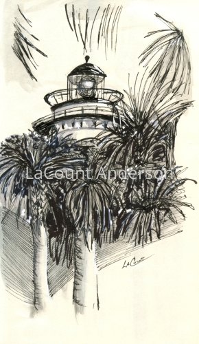 Lighthouse, St. Simons Island, GA