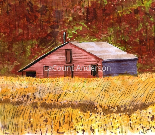 Edgecombe County Barn (large view)