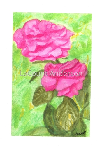 Pink Lady by LaCount Anderson