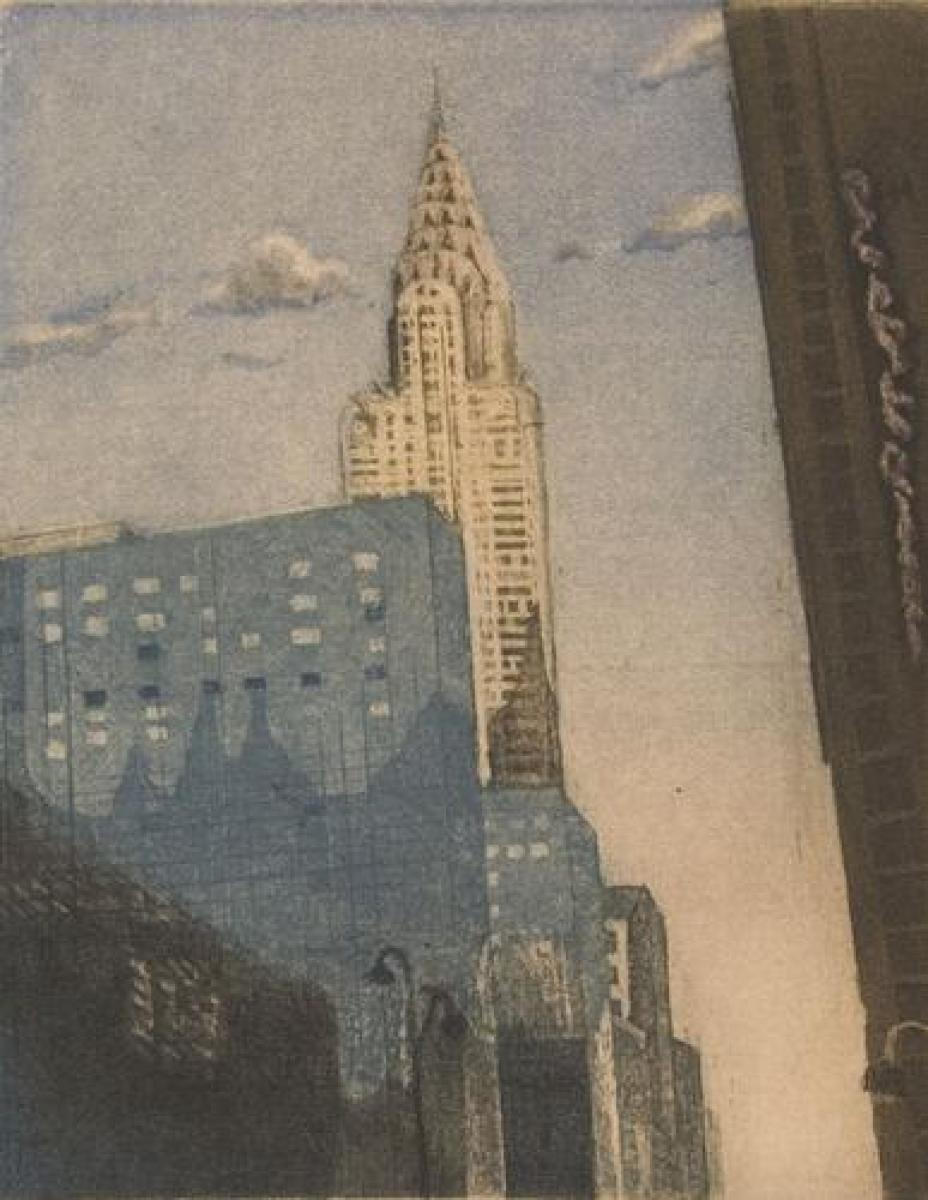The Chrysler from 42nd St (large view)
