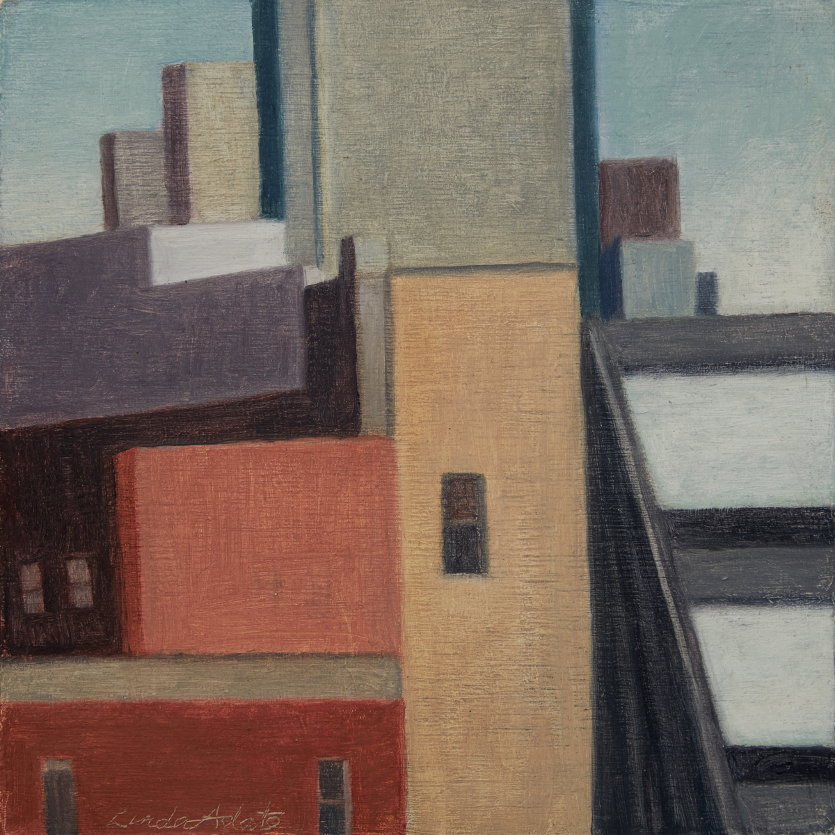 Buildings with Triangle (large view)