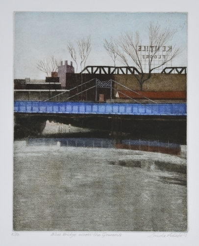 Blue Bridge across the Gowanus