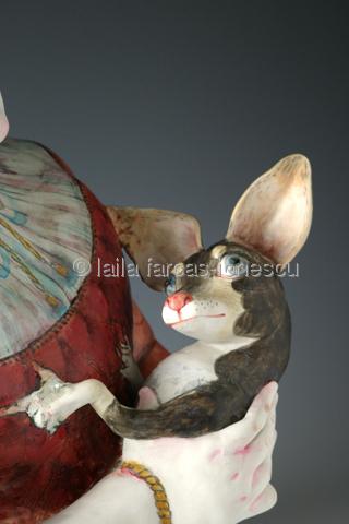 La Dame Au Chihuahua by laila farcas-ionescu