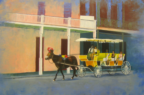 Horse and Carriage, French Quarter