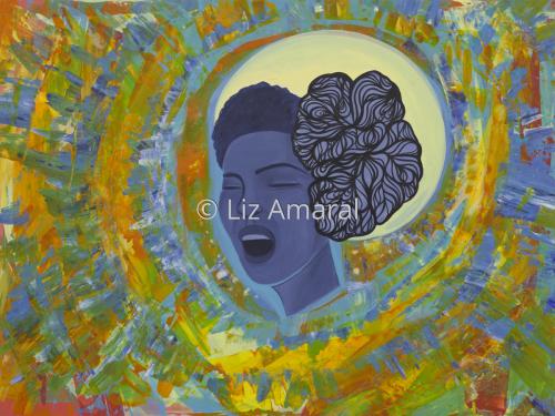 Billie Sings The Blues. by Liz Amaral