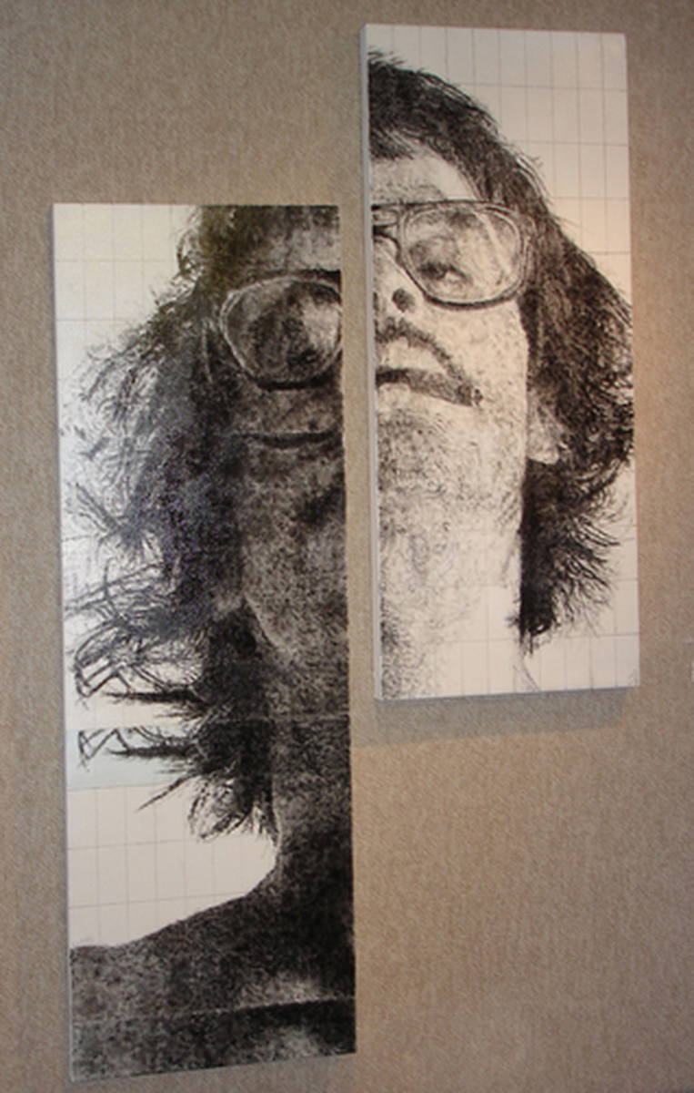 Self-Portrait with Systematic Duplication (large view)