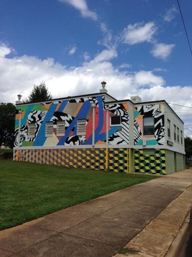 Burke Arts Mural (large view)