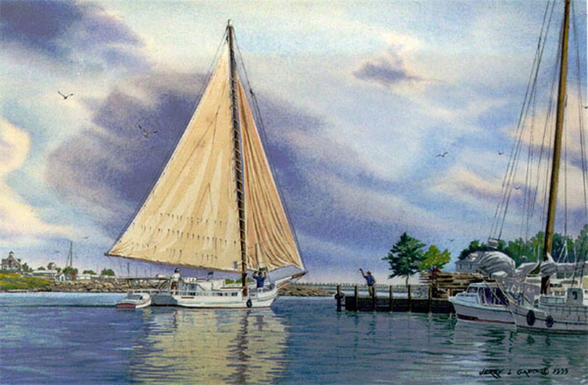 Chesapeake Bay Skipjack (large view)