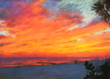 Painting--Pastels-SeascapeInto the Sunset, St. Pete