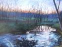 Painting--PastelsIndian Creek, Winter