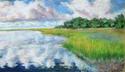 Painting--Pastels-LandscapeOctober Honeymoon, Savannah
