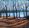 Painting--Pastels-LandscapeWinter Retreat, Maranatha