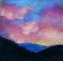 Painting--Pastels-LandscapeColorado Sunset