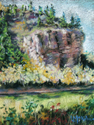 Cottonwoods Along the Colorado River (thumbnail)