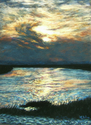 Evening Storm, Savannah Marsh (thumbnail)