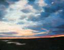 Painting--PastelsSavannah Marsh, High Tide