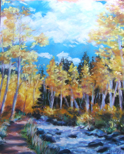 Aspens, Steamboat Springs (large view)
