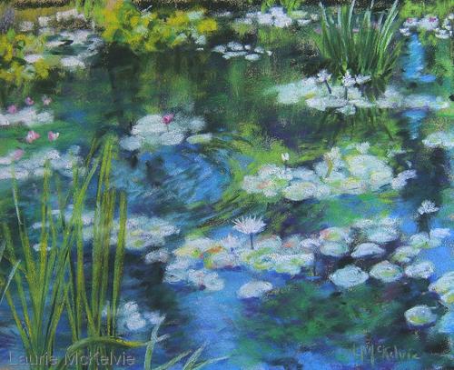 Water Lilies, Huntsville Botanical Garden