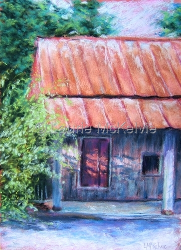 Painting--Pastels-LandscapeLimestone Bay Trading Co., Mooresville