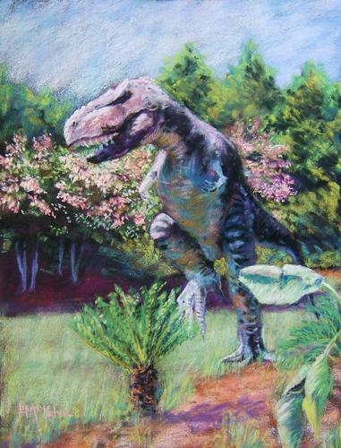 Dinosaur Roar, Huntsville Botanical Garden (large view)