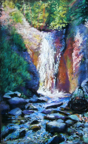 Painting--Pastels-LandscapeLiving Water, Camp Hale