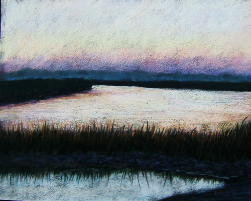 Low Country Evening, Lazaretto Creek, Savannah (large view)
