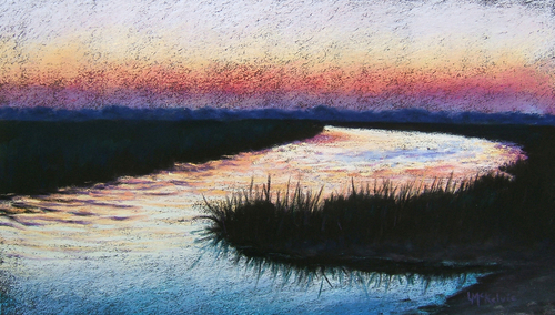 Evening Peace, Savannah Marshes (thumbnail)