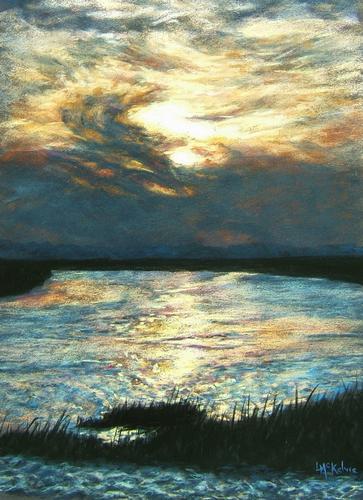 Evening Storm, Savannah Marsh
