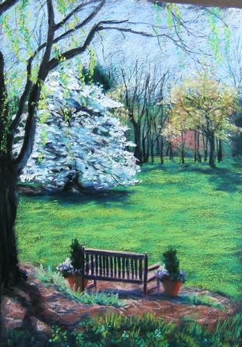 Spring Beauty, Huntsville Botanical Garden (large view)