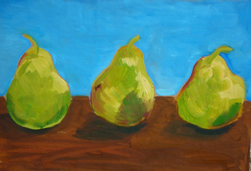 Pear Trio (large view)