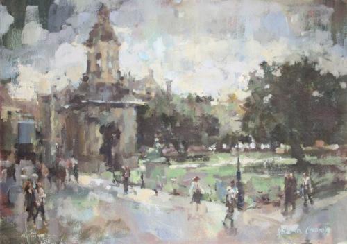 The Campanile,trinity college