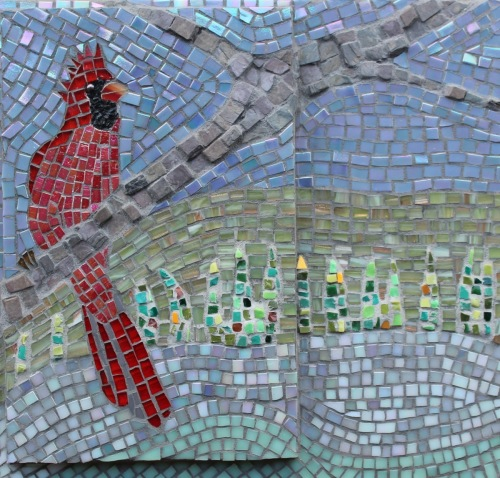 Humility and Grace (Cardinal Mosaic)