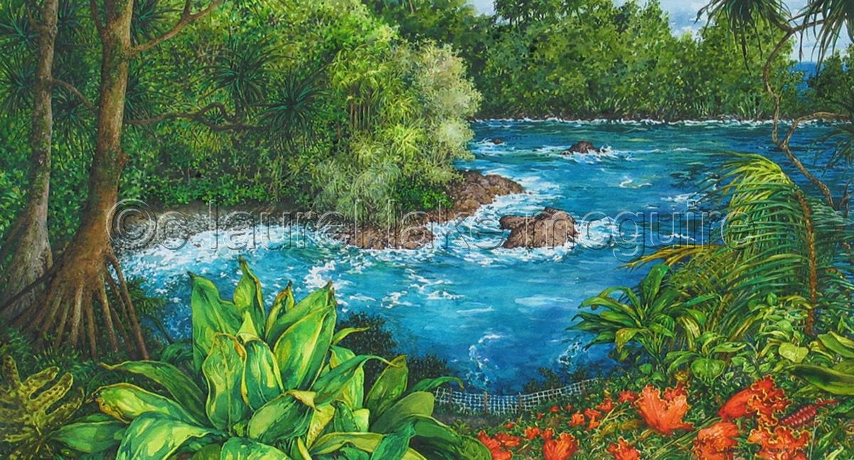 """""""Botanical Bay"""" (large view)"""