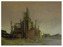 Steelworks at Dusk (thumbnail)