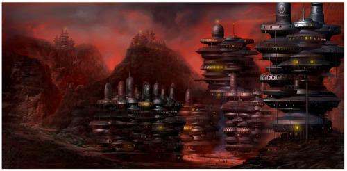 Digital Fantasy Landscape