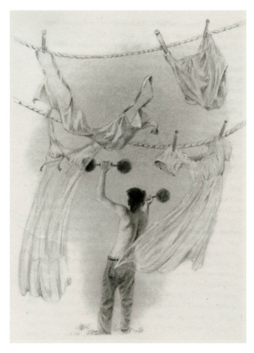 Drawing--Pencil-FigurativePortnoy's Complaint 2