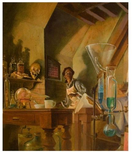 Illustration-Dr. Frankenstein