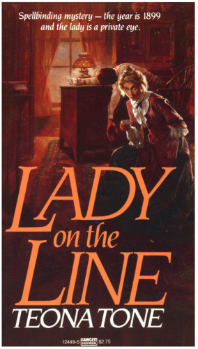 Illustration-Lady on the Line