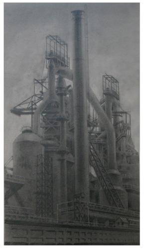 Steelstacks by Laurence Schwinger