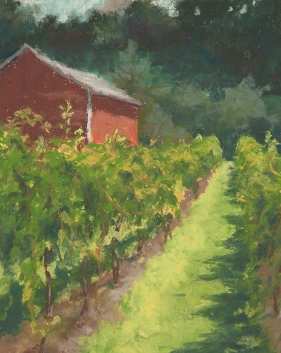 Galena Cellars Vineyard by Laverne Bohlin