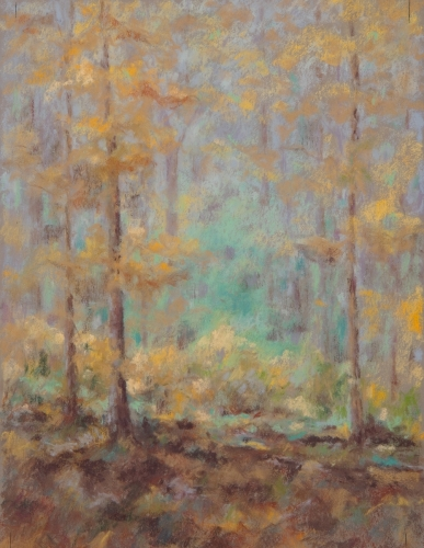 Turquoise Forest by Laverne Bohlin