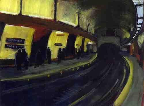 Underground Paris Metro