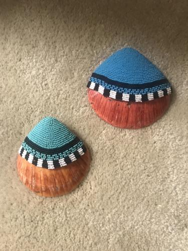Beaded Spiny oyster shells by Lester Berryhill