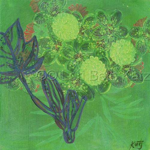 Green Leaf Series B (large view)