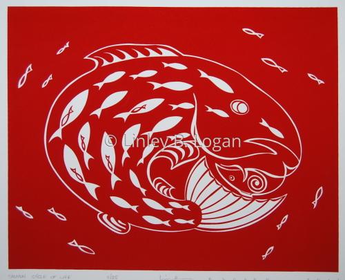 Salmon Cycle by Linley B. Logan