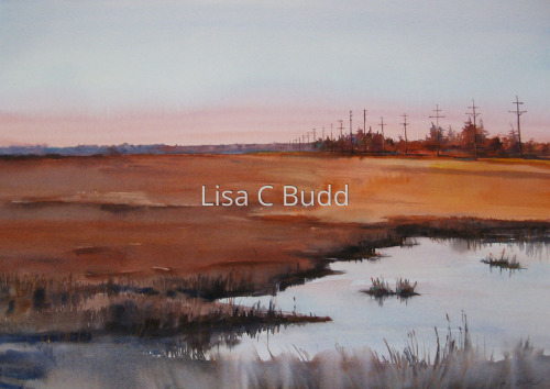 Off in the Distance by Lisa C Budd, AWS