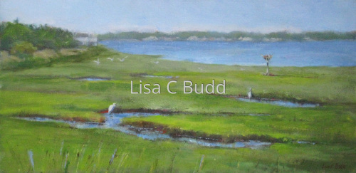 Somewhere Over the Marsh by Lisa C Budd