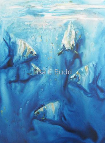 Coming Through by Lisa C Budd