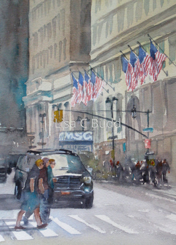 Seventh Avenue - MSG by Lisa C Budd, AWS